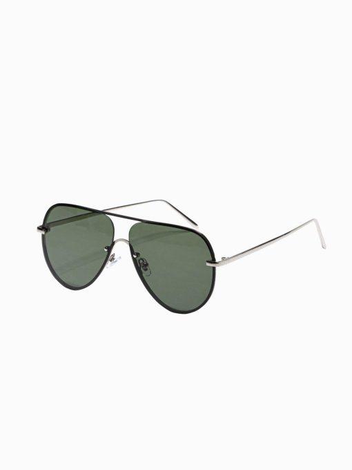 Žali vyriški akiniai nuo saulės internetu pigiau A373 19015-1
