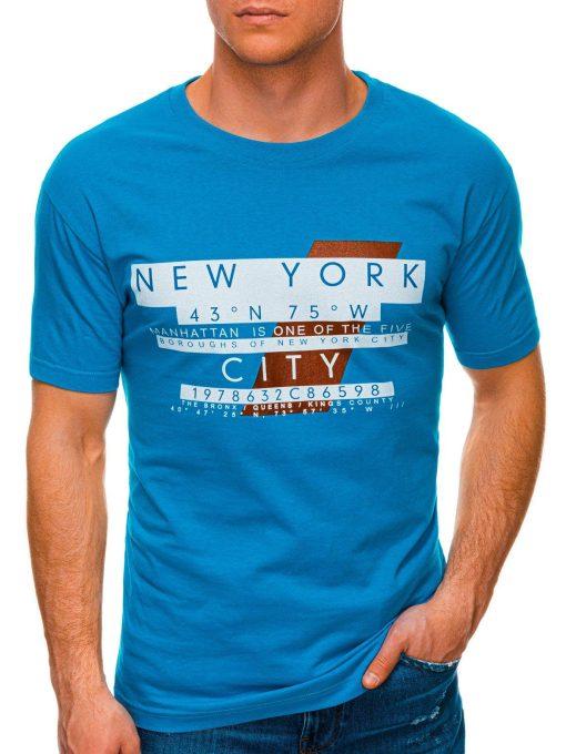 Turkio vyriški marškinėliai su užrašu internetu pigiau S1432 19081-1