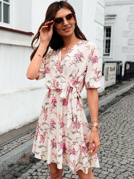 Vasarine moteriska suknele internetu pigiau DLR017 19336-2