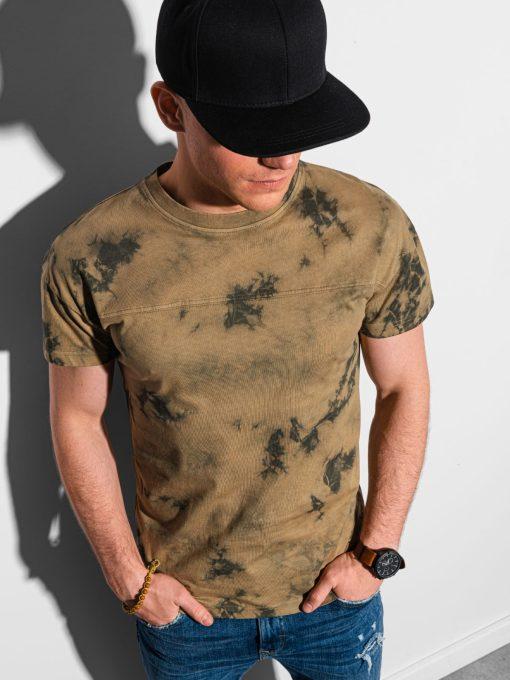 Rudi vyriški marškinėliai internetu pigiau S1372 19400-1