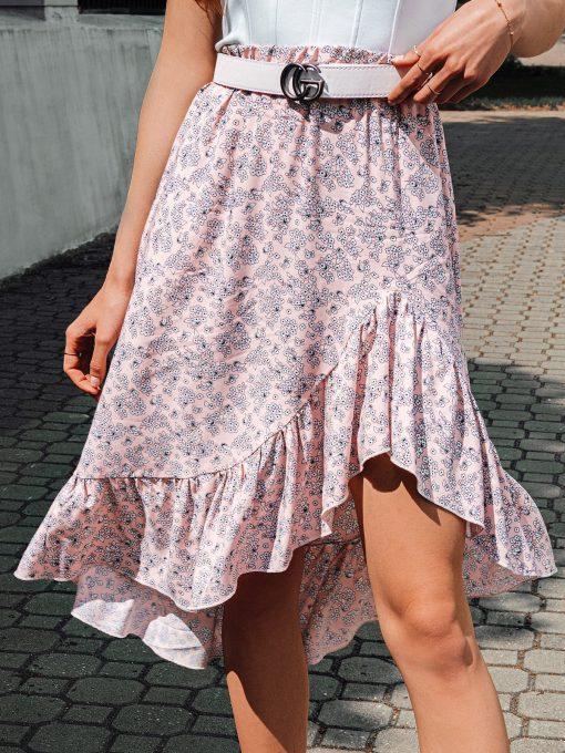 Rozinis vasarinis moteriskas sijonas internetu pigiau GLR009 19417-2