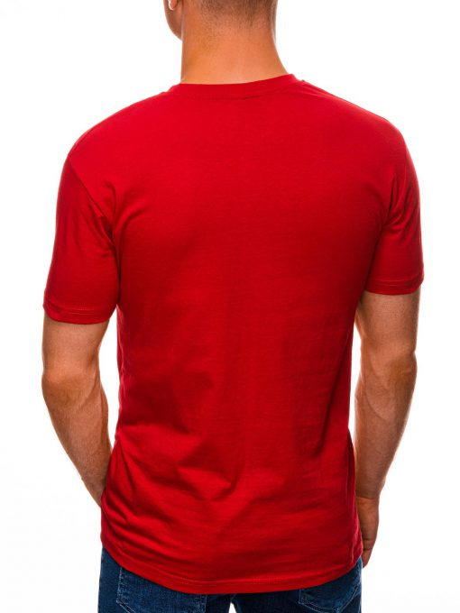 Raudoni marskineliai su uzrasu internetu pigiau S1457 19561-3
