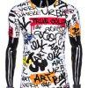 Balti vyriški marškinėliai su užrašais internetu pigiau S1201 14506-1