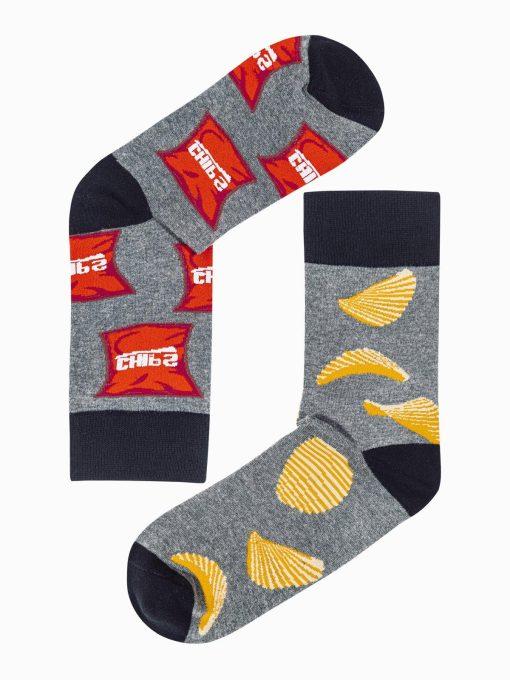 Vyriškos kojinės su paveiksliukais internetu U168 19740-1