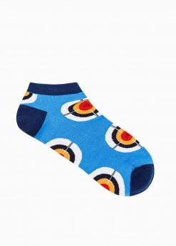 Trumpos vyriškos kojinės su paveiksliukais internetu U171 19746-2