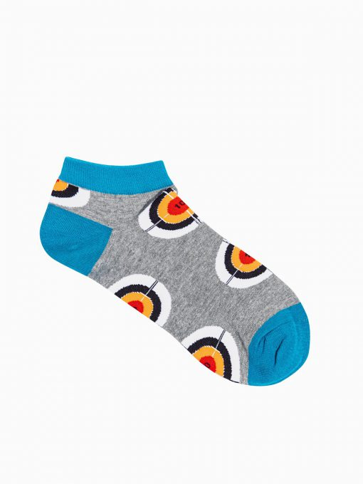Trumpos vyriškos kojinės su paveiksliukais internetu U171 19747-1