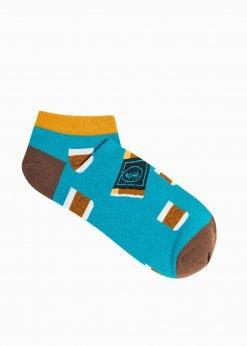 Tumpos vyriškos kojinės su paveiksliukais internetu U172 19752-1