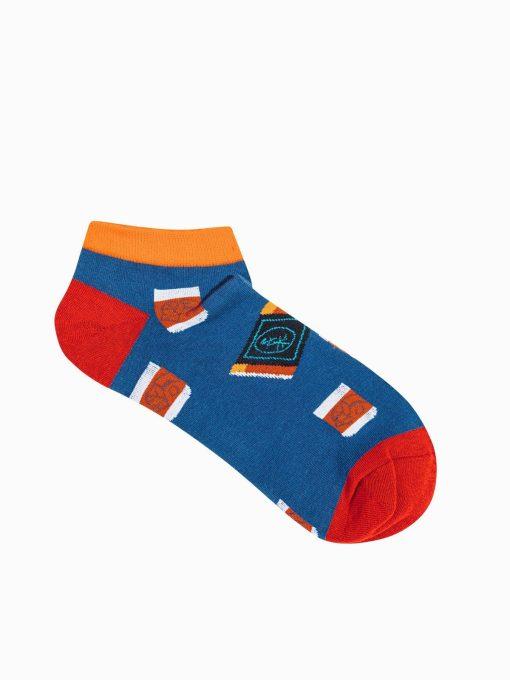 Trumpos vyriškos kojinės su paveiksliukais internetu U172 19756-1