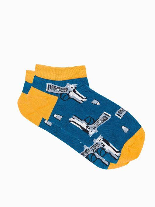 Trumpos vyriskos kojines su paveiksliukais internetu U173 19757-2