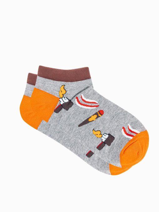 Trumpos vyriskos kojines su paveiksliukais internetu U174 19760-2