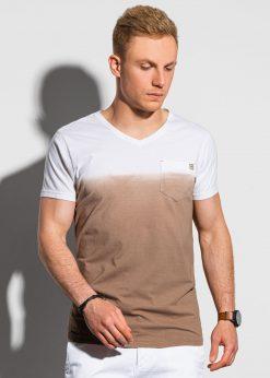 Rudi vyriški marškinėliai su kišenėle internetu pigiau S1380 19784-1