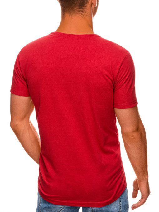 Raudoni marskineliai su uzrasu internetu pigiau S1466 19875-4