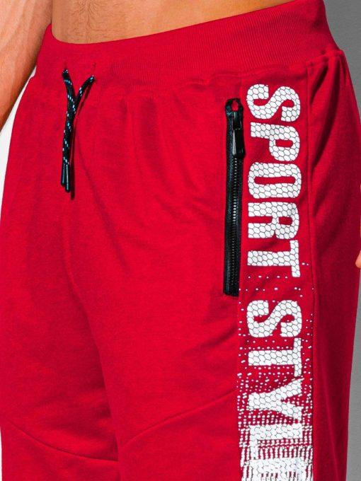 Raudoni sportiniai sortai vyrams internetu pigiau W342 19927-3