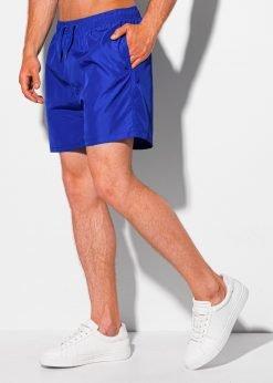 Sodriai mėlyni maudymosi šortai vyrams internetu pigiau W340 19938-3