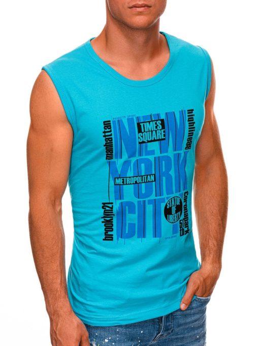 Turkio vyriški marškinėliai be rankovių internetu pigiau S1471 20138-1