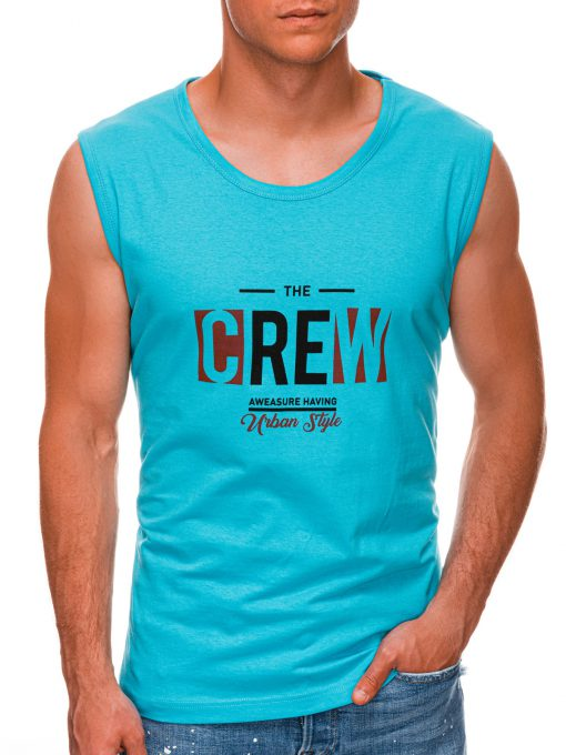 Turkio vyriški marškinėliai be rankovių internetu pigiau S1470 20141-1