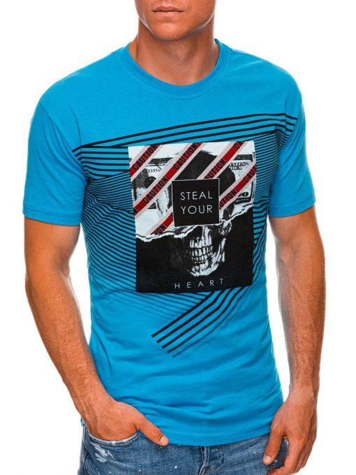 Turkio vyriški marškinėliai su kaukole internetu pigiau S1469 20148-1