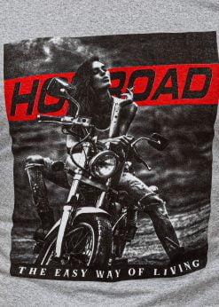 Vyriski marskineliai su motociklu internetu pigiau S1468 20176-2