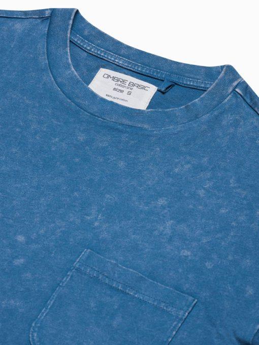 Vyriški marškinėliai su kišenėle internetu pigiau S1375 19408-4