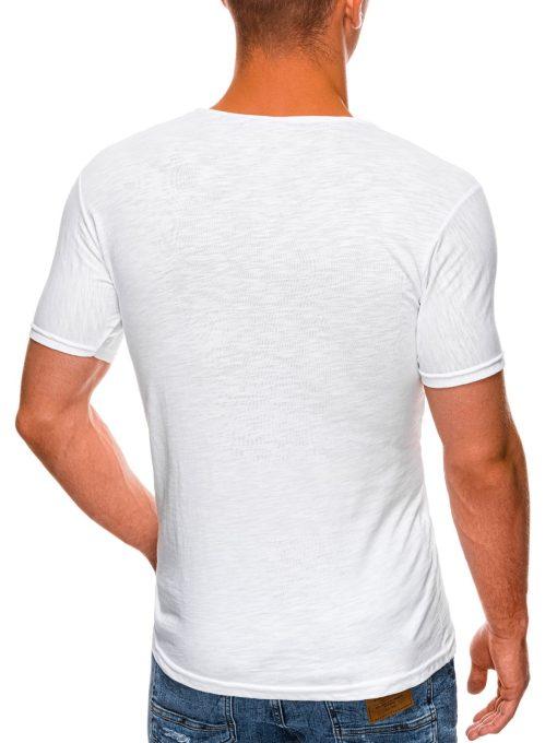 Balti marskineliai vyrams internetu pigiau S1478 20327-3