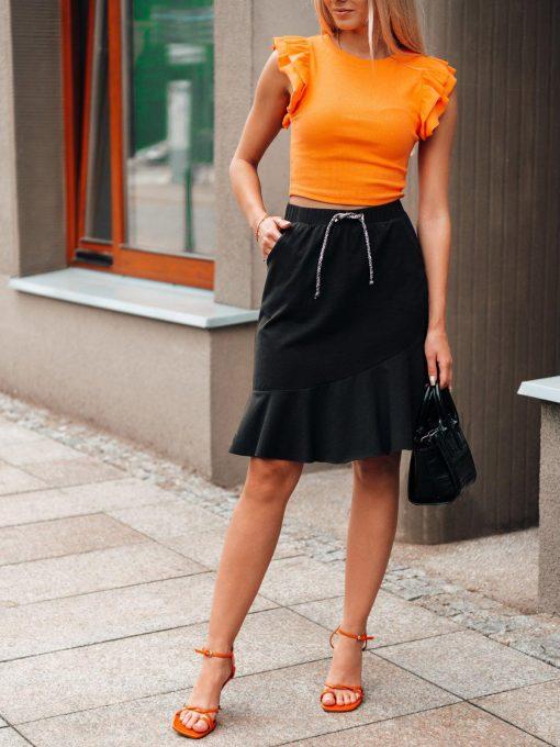 Vasarinis sijonas su raukinukais internetu pigiau GLR015 20541-2