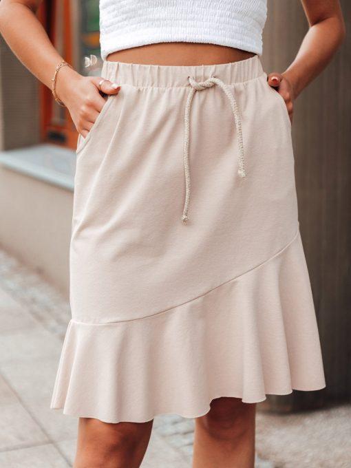 Moteriskas sijonas su raukinukais internetu pigiau GLR015 20542-2