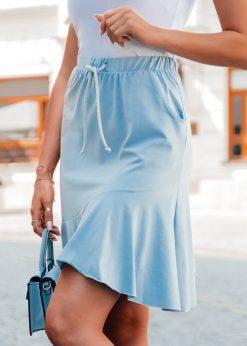 Moteriskas sijonas su raukinukais internetu pigiau GLR015 20543-2