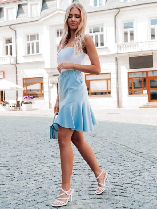 Vasarinis sijonas su raukinukais internetu pigiau GLR015 20543-3