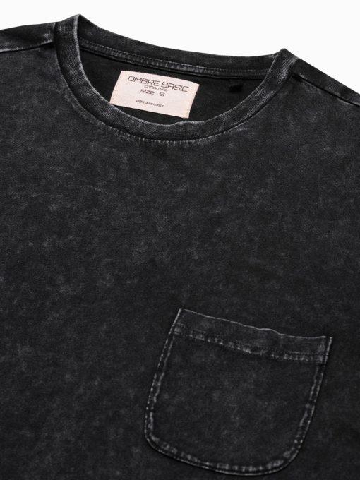 Vyriški marškinėliai su kišenėle internetu pigiau S1375 19407-4