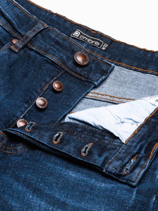 Plėšyti džinsiniai šortai vyrams internetu pigiau W309 19476-6