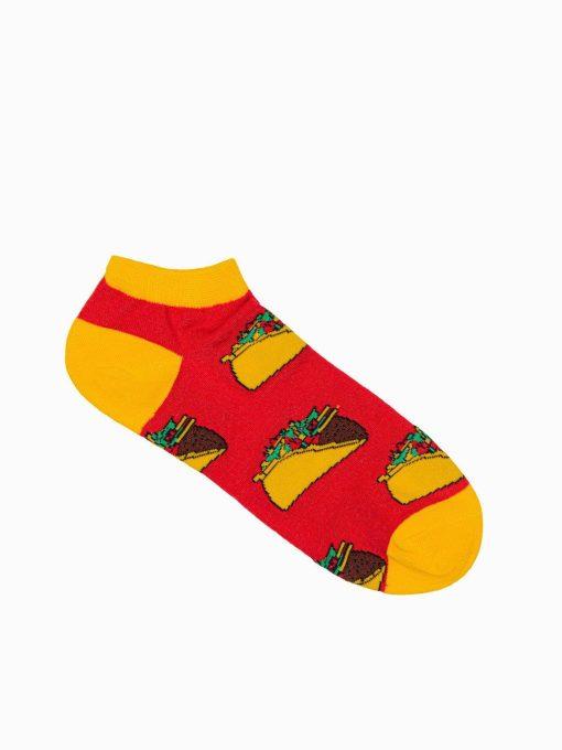 Trumpos vyriškos kojinės su paveiksliukais internetu U129 17297-1