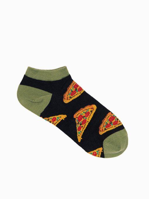 Trumpos vyriškos kojinės su paveiksliukais internetu U132 17305-1