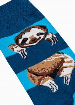Melynos kojines su paveiksliukais internetuU200 20939-4