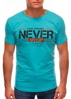 Turkio vyriški marškinėliai su užrašu internetu S1488 20947-2