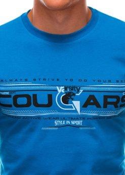 Vyriški marškinėliai su užrašu internetu S1493 21552-2