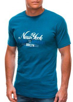 Turkio vyriški marškinėliai su užrašu S1498 21767-1